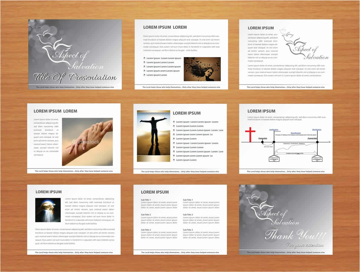 Power point template design
