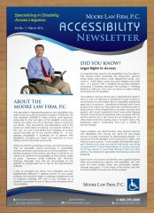 Newsletter design