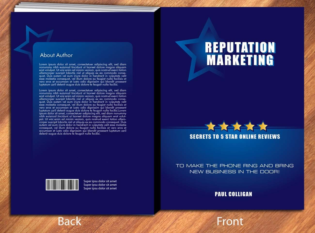 Design book covers online - Book Cover Design