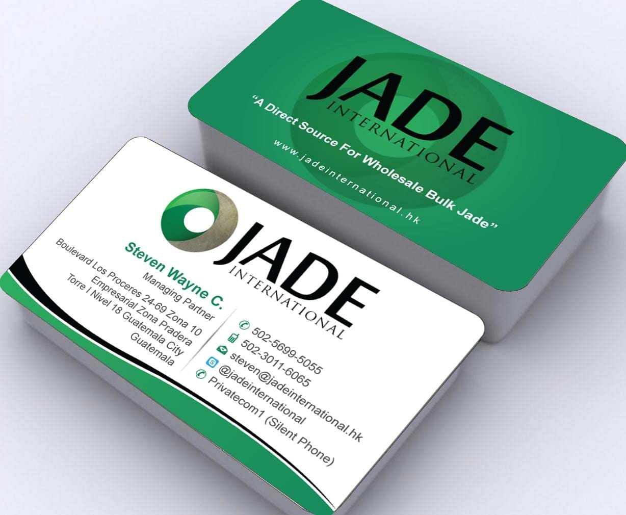 Colorful international business cards adornment business card appealing business card design best graphics design company reheart Images
