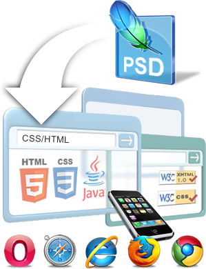 psd to xhtml conversion at YourDesignPick is affordable
